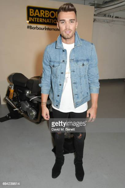 Josh Cuthbert attends the Barbour International presentation during the London Fashion Week Men's June 2017 collections on June 9 2017 in London...