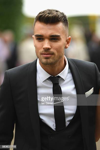 Josh Cuthbert attends the Qatar Goodwood Festival 2016 at Goodwood on July 27 2016 in Chichester England