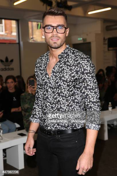 Josh Cuthbert during 'Streets of EQT' a street style presentation to celebrate Hailey Baldwin's new Adidas EQT campaign during London Fashion Week...