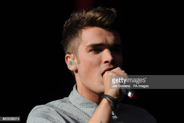 Josh Cuthbert of Union J performing during day one of the Fusion Festival at Cofton Park Birmingham PRESS ASSOCIATION Photo Picture date Saturday...
