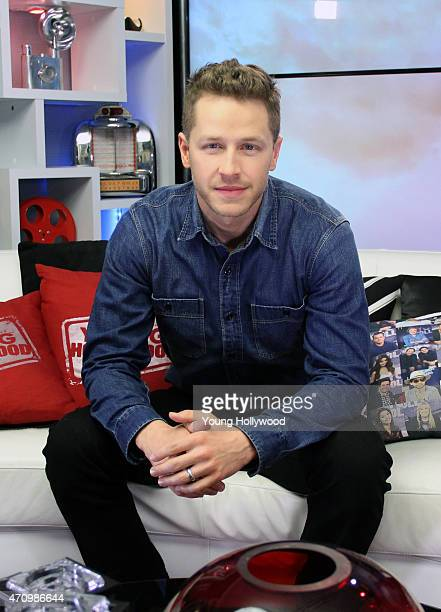 Josh Dallas visits the Young Hollywood Studio on April 24 2015 in Los Angeles California