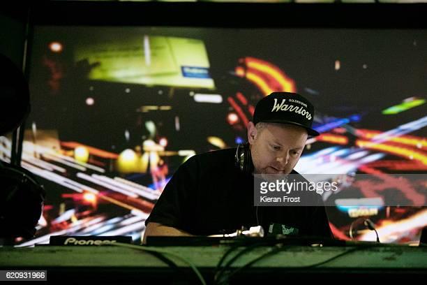 Josh Davis aka DJ Shadow performs at Metropolis Festival at the RDS Concert Hall on November 3 2016 in Dublin Ireland