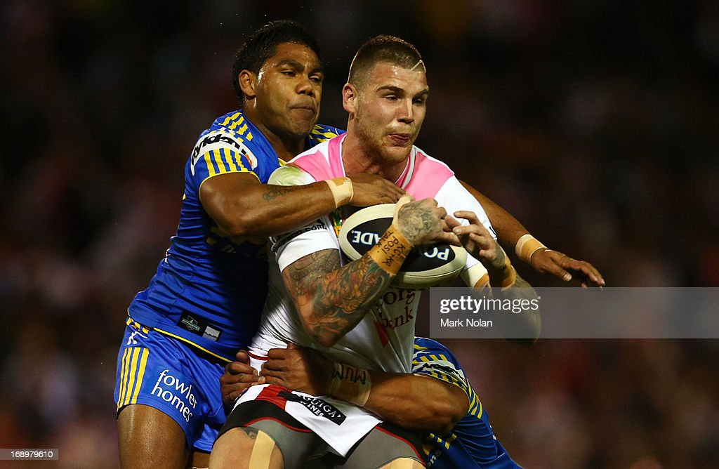 NRL Rd 10 - Dragons v Eels