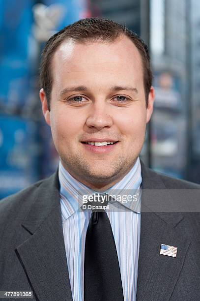 Josh Duggar visits 'Extra' at their New York studios at HM in Times Square on March 11 2014 in New York City