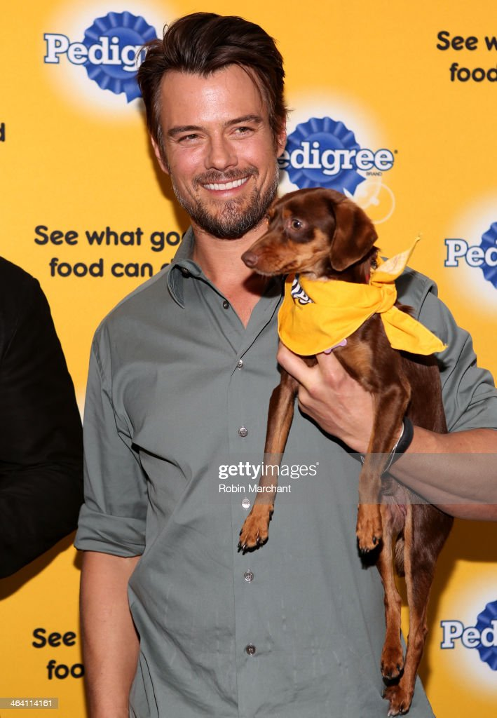 Josh Duhamel And David Ortiz Team Up With Pedigree To Launch New Storytelling Campaign At 2014 Sundance Film Festival at Haven at The Sky Lodge on January 20, 2014 in Park City, Utah.