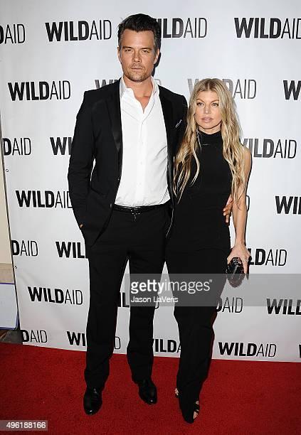 Josh Duhamel and Fergie attend WildAid 2015 at Montage Hotel on November 7 2015 in Beverly Hills California
