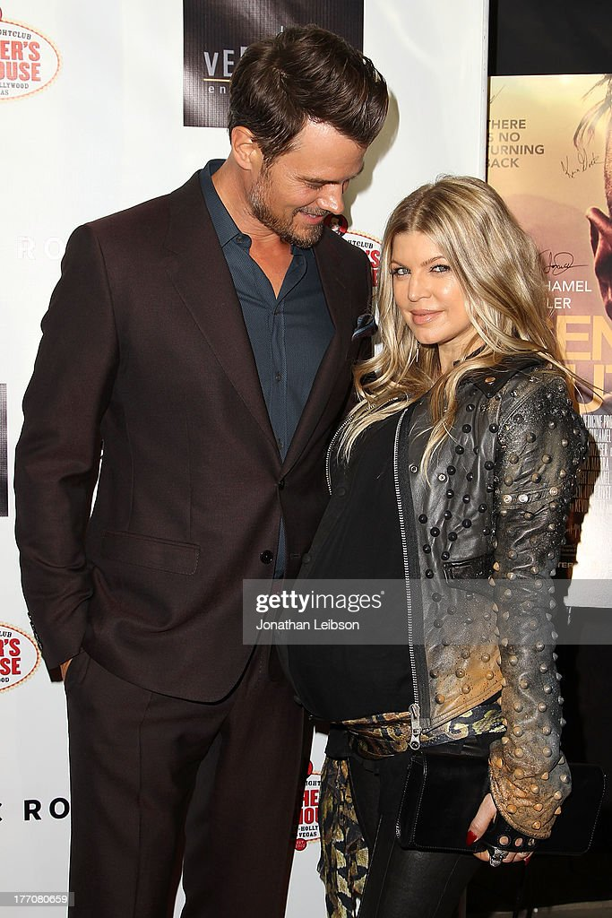 Josh Duhamel and Fergie Duhamel arrive to the 'Scenic Route' Los Angeles Premiere at Chinese 6 Theater Hollywood on August 20, 2013 in Hollywood, California.
