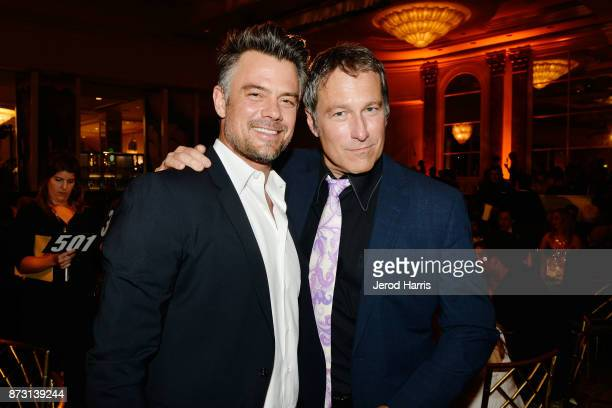 Josh Duhamel and John Corbett attend an 'Evening With WildAid' at the Beverly Wilshire Four Seasons Hotel on November 11 2017 in Beverly Hills...