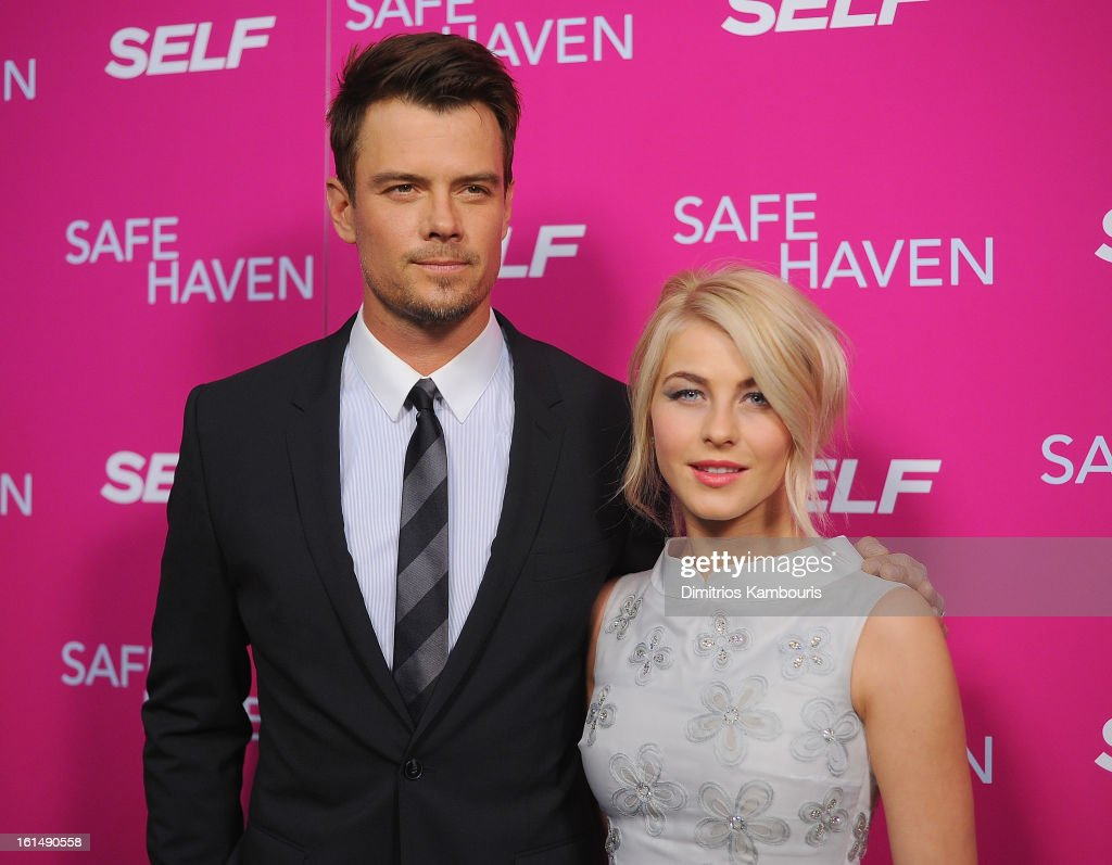 <a gi-track='captionPersonalityLinkClicked' href=/galleries/search?phrase=Josh+Duhamel&family=editorial&specificpeople=208740 ng-click='$event.stopPropagation()'>Josh Duhamel</a> and <a gi-track='captionPersonalityLinkClicked' href=/galleries/search?phrase=Julianne+Hough&family=editorial&specificpeople=4237560 ng-click='$event.stopPropagation()'>Julianne Hough</a> attend 'Safe Haven' New York Screening at Sunshine Landmark on February 11, 2013 in New York City.