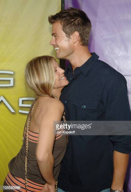 Josh Duhamel and Stacy 'Fergie' Ferguson during 'Las Vegas' TCA Cocktail Party Arrivals at The Beverly Hilton Hotel in Beverly Hills California...