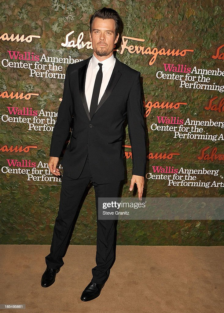 Josh Duhamel arrives at the Wallis Annenberg Center For The Performing Arts Inaugural Gala at Wallis Annenberg Center for the Performing Arts on October 17, 2013 in Beverly Hills, California.