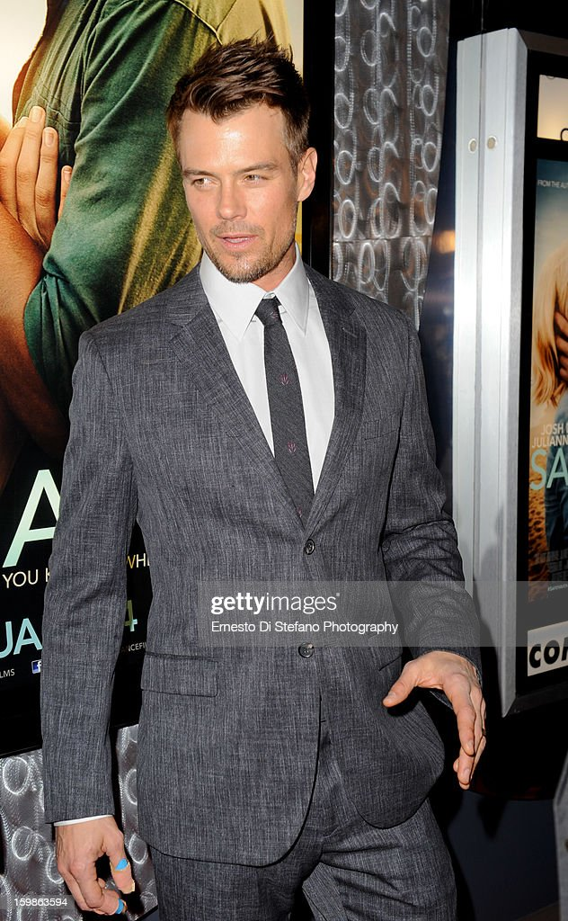 <a gi-track='captionPersonalityLinkClicked' href=/galleries/search?phrase=Josh+Duhamel&family=editorial&specificpeople=208740 ng-click='$event.stopPropagation()'>Josh Duhamel</a> attends 'Safe Haven' Canadian premiere at Scotiabank Theatre on January 21, 2013 in Toronto, Canada.