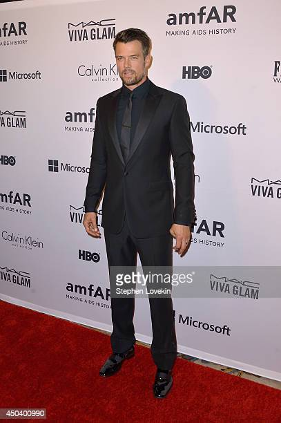 Josh Duhamel attends the amfAR Inspiration Gala New York 2014 at The Plaza Hotel on June 10 2014 in New York City
