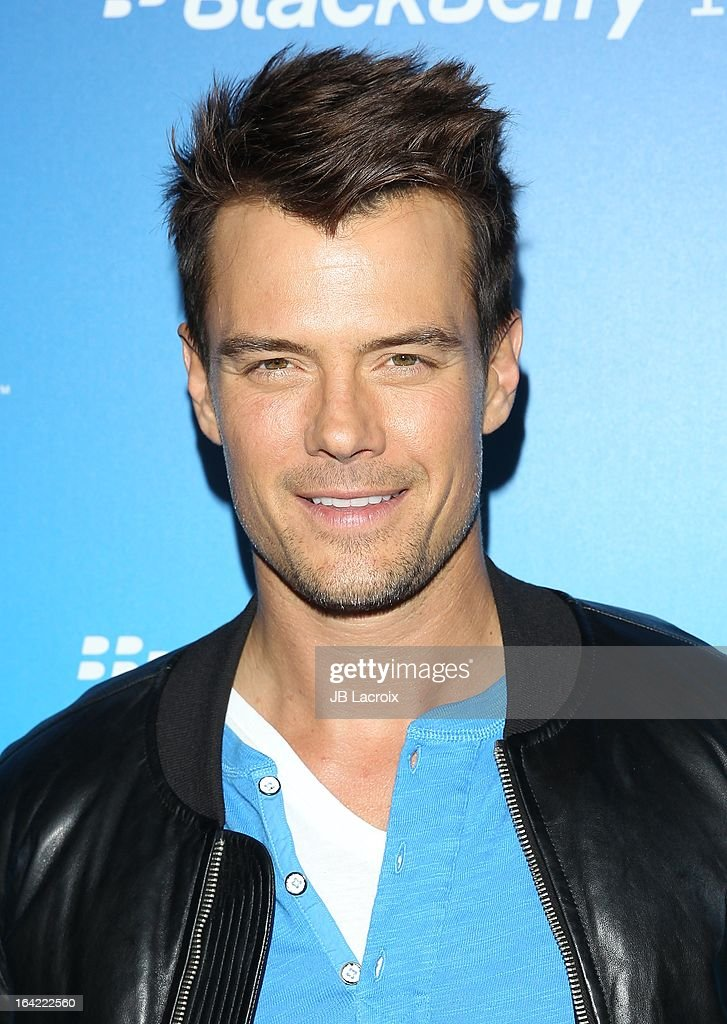 Josh Duhamel attends the BlackBerry Z10 Smartphone launch party held at at Cecconi's Restaurant on March 20, 2013 in Los Angeles, California.