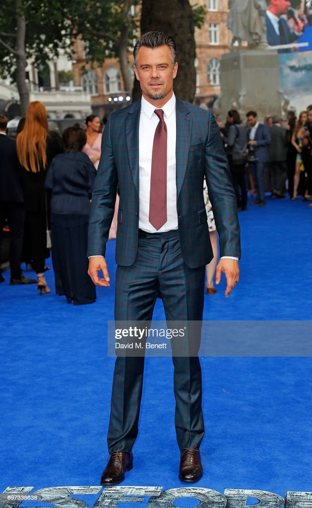 Josh Duhamel attends the Global Premiere of 'Transformers: The Last Knight' at Cineworld Leicester Square on June 18, 2017 in London, England.