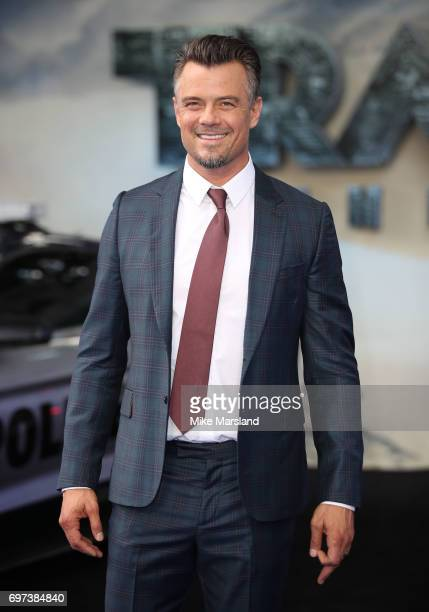 Josh Duhamel attends the global premiere of 'Transformers The Last Knight' at Cineworld Leicester Square on June 18 2017 in London England