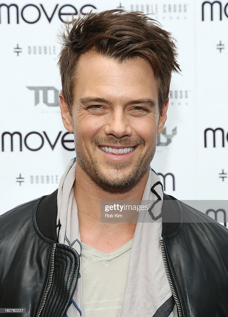 Josh Duhamel attends the Moves' 2013 Spring Fashion Issue Mens Cover Party at TOY at Gansevoort Hotel on February 26, 2013 in New York City.
