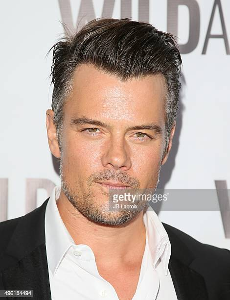 Josh Duhamel attends the WildAid 2015 on November 7 2015 in Beverly Hills California