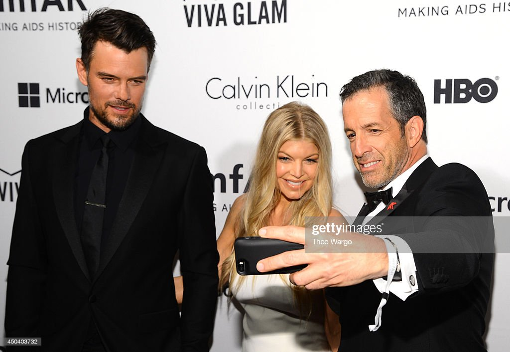 <a gi-track='captionPersonalityLinkClicked' href=/galleries/search?phrase=Josh+Duhamel&family=editorial&specificpeople=208740 ng-click='$event.stopPropagation()'>Josh Duhamel</a>, <a gi-track='captionPersonalityLinkClicked' href=/galleries/search?phrase=Fergie+Duhamel&family=editorial&specificpeople=171894 ng-click='$event.stopPropagation()'>Fergie Duhamel</a> and <a gi-track='captionPersonalityLinkClicked' href=/galleries/search?phrase=Kenneth+Cole+-+Fashion+Designer&family=editorial&specificpeople=6945408 ng-click='$event.stopPropagation()'>Kenneth Cole</a> attend the amfAR Inspiration Gala New York 2014 at The Plaza Hotel on June 10, 2014 in New York City.