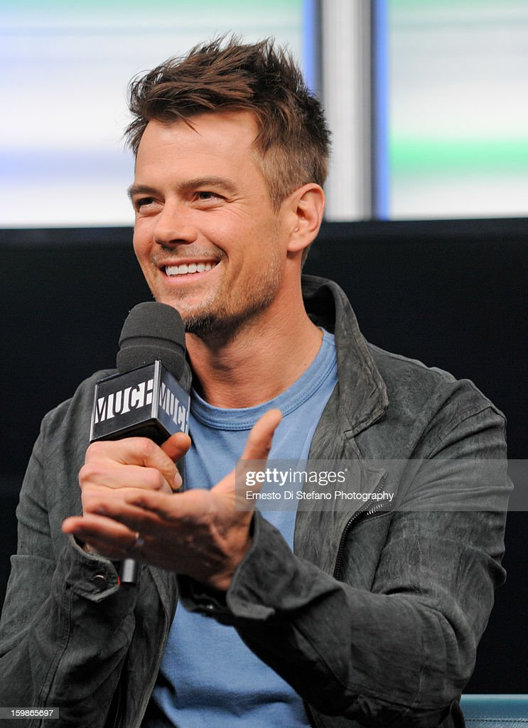 Josh Duhamel interview on New.Music.Live at MuchMusic Headquarters on January 21, 2013 in Toronto, Canada.
