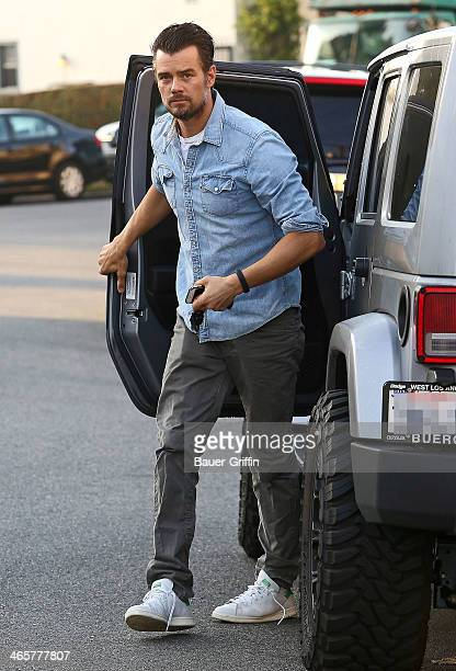 Josh Duhamel is seen on January 29 2014 in Los Angeles California