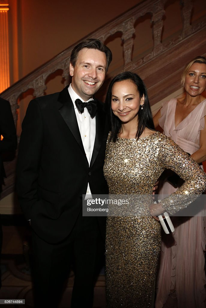 Josh Earnest, White House press secretary, left, and Natalie Wyeth Earnest attend the Bloomberg Vanity Fair White House Correspondents' Association (WHCA) dinner afterparty in Washington, D.C., U.S., on Saturday, April 30, 2016. The 102nd WHCA raises money for scholarships and honors the recipients of the organization's journalism awards. Photographer: Andrew Harrer/Bloomberg via Getty Images