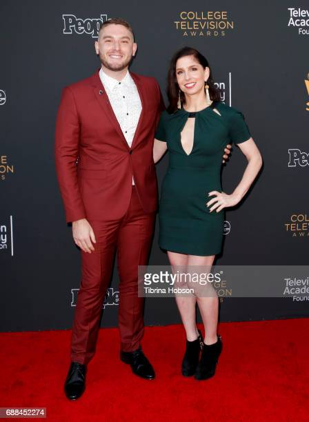 Josh Feldman and Shoshannah Stern attend the 38th College Television Awards at Wolf Theatre on May 24 2017 in North Hollywood California