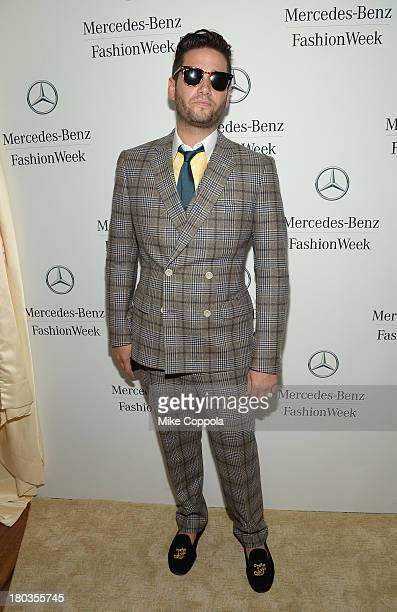 Josh Flagg attends the MercedesBenz Star Lounge during MercedesBenz Fashion Week Spring 2014 on September 11 2013 in New York City