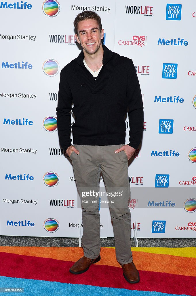 Josh Folan attends the 11th Annual Work Life Matters gala at Club 101 on October 24, 2013 in New York City.