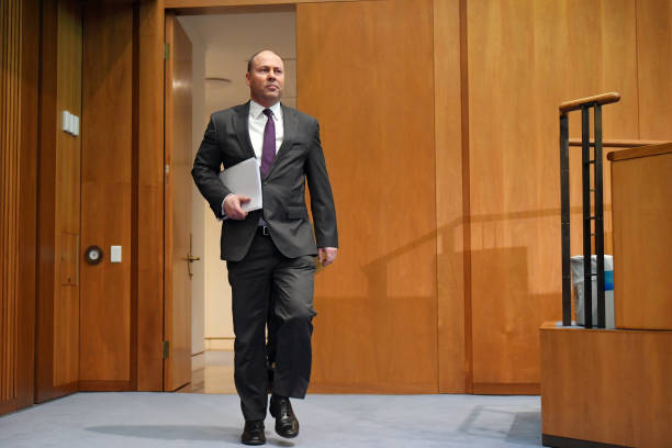 AUS: Australia Treasurer Josh Frydenberg News Conference as Australia Budget Deficit to Blow Out to $132 Billion in 2021
