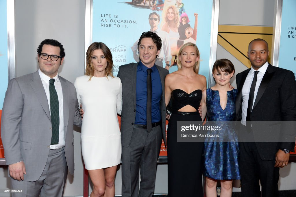 <a gi-track='captionPersonalityLinkClicked' href=/galleries/search?phrase=Josh+Gad&family=editorial&specificpeople=4196023 ng-click='$event.stopPropagation()'>Josh Gad</a>, <a gi-track='captionPersonalityLinkClicked' href=/galleries/search?phrase=Ashley+Greene&family=editorial&specificpeople=781552 ng-click='$event.stopPropagation()'>Ashley Greene</a>, <a gi-track='captionPersonalityLinkClicked' href=/galleries/search?phrase=Zach+Braff&family=editorial&specificpeople=203253 ng-click='$event.stopPropagation()'>Zach Braff</a>, <a gi-track='captionPersonalityLinkClicked' href=/galleries/search?phrase=Kate+Hudson&family=editorial&specificpeople=156407 ng-click='$event.stopPropagation()'>Kate Hudson</a>, <a gi-track='captionPersonalityLinkClicked' href=/galleries/search?phrase=Joey+King+-+Actress&family=editorial&specificpeople=2264584 ng-click='$event.stopPropagation()'>Joey King</a> and <a gi-track='captionPersonalityLinkClicked' href=/galleries/search?phrase=Donald+Faison&family=editorial&specificpeople=213042 ng-click='$event.stopPropagation()'>Donald Faison</a> attend the 'Wish I Was Here' screening at AMC Lincoln Square Theater on July 14, 2014 in New York City.