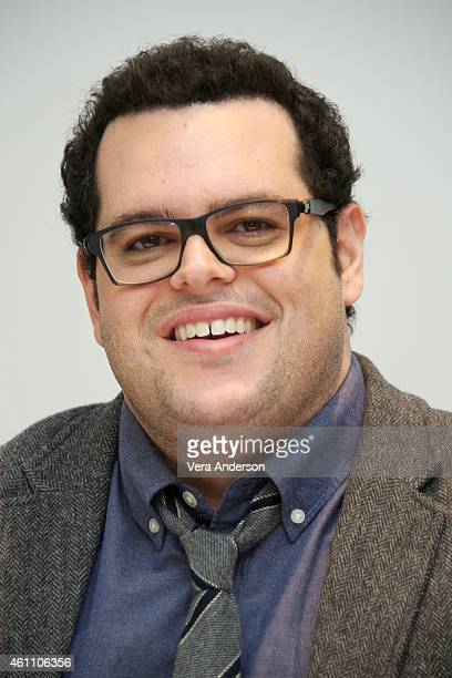 Josh Gad at 'The Wedding Ringer' Press Conference at the Four Seasons Hotel on January 6 2015 in Beverly Hills California