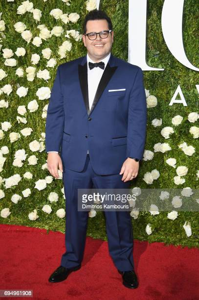 Josh Gad attends the 2017 Tony Awards at Radio City Music Hall on June 11 2017 in New York City