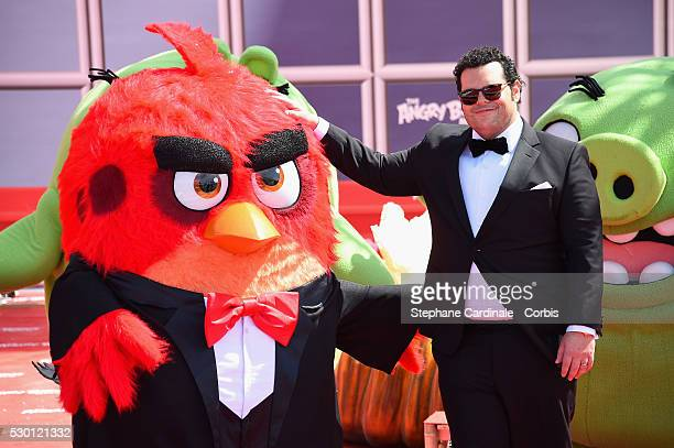 Josh Gad attends 'The Angry Birds Movie' Photocall during the annual 69th Cannes Film Festival at JW Marriott on May 10 2016 in Cannes France