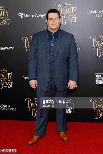 Josh Gad attends the 'Beauty and the Beast' New York screening at Alice Tully Hall Lincoln Center on March 13 2017 in New York City