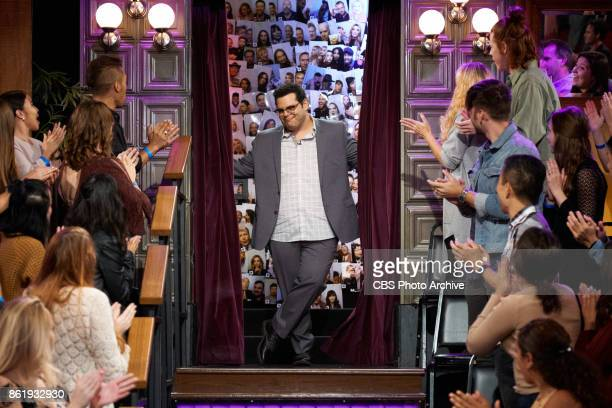 Josh Gad greets the audience during 'The Late Late Show with James Corden' Wednesday October 11 2017 On The CBS Television Network