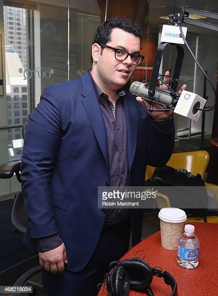Josh Gad visits at SiriusXM Studios on March 31 2015 in New York City