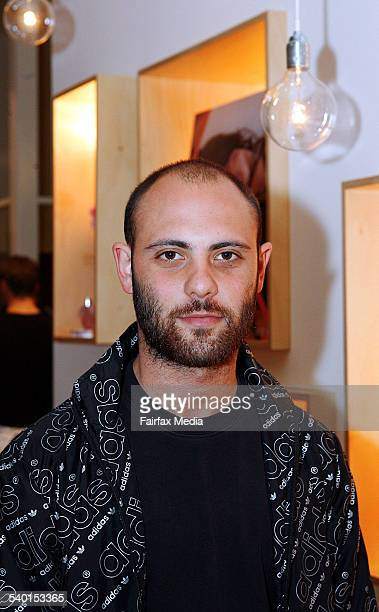Josh Goot at the Stella McCartney perfume launch at The Corner Shop Strand Arcade Sydney 16 October 2006 SHD Picture by JENNY EVANS