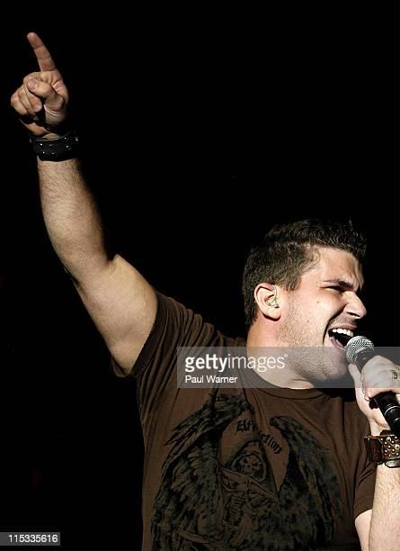 Josh Gracin during 25th Annual Downtown Hoedown Sponsored by Country 995 WYCD Day 2 at Hart Plaza in Detroit Michigan United States