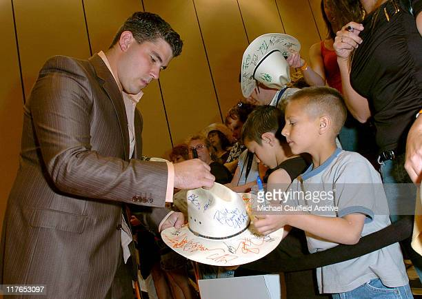 Josh Gracin during 40th Annual Academy of Country Music Awards Orange Carpet at Mandalay Bay Resort and Casino Events Center in Las Vegas Nevada...