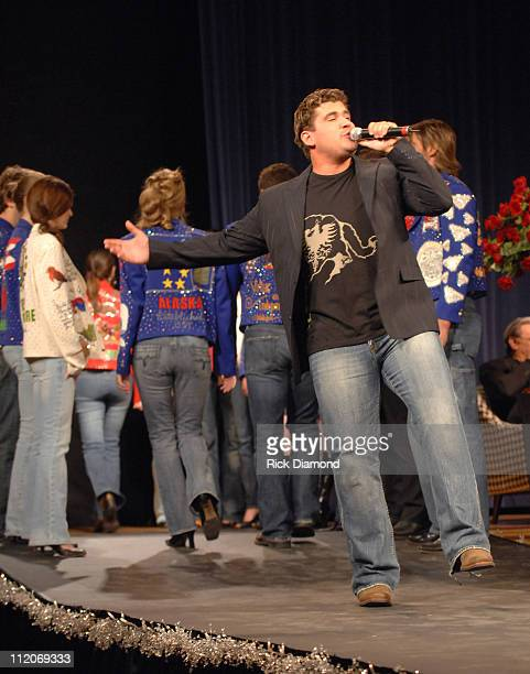 Josh Gracin during 'Rhinestones and Roses' A Tribute to Clothing Designer Manuel at War Memorial Auditorium in Nashville Tennessee United States