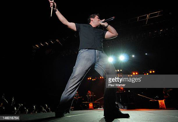 Josh Gracin performs during the 2012 Downtown Hoedown at Comerica Park on June 8 2012 in Detroit Michigan