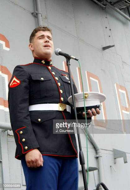 Josh Gracin US Marine and 'American Idol' finalist