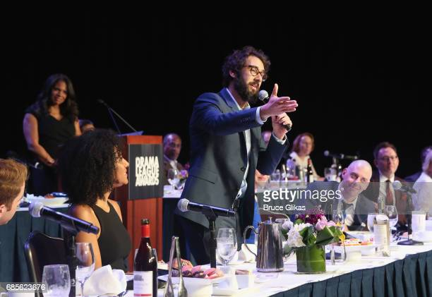 Josh Groban at the 2017 Drama League Awards Luncheon at The Marriott Marquis Times Square on May 19 2017 in New York City