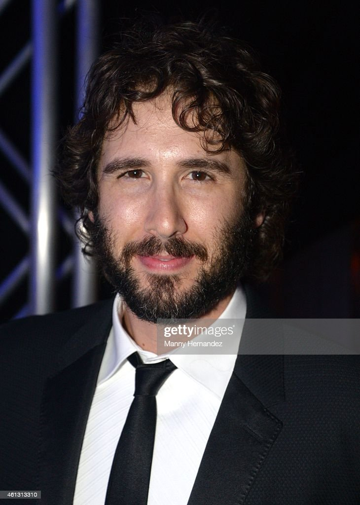 Josh Groban attends 2015 YoungArts Backyard Ball at YoungArts Campus on January 10, 2015 in Miami, Florida.