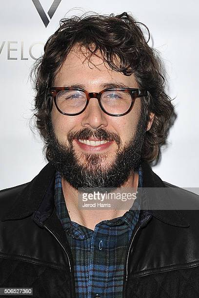 Josh Groban attends ChefDance Park City 2016 Presented by Velocity on January 23 2016 in Park City Utah