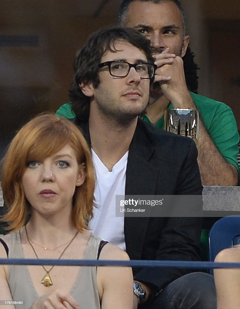 <a gi-track='captionPersonalityLinkClicked' href=/galleries/search?phrase=Josh+Groban&family=editorial&specificpeople=202917 ng-click='$event.stopPropagation()'>Josh Groban</a> attends the 2013 US Open at USTA Billie Jean King National Tennis Center on August 31, 2013 in New York City.