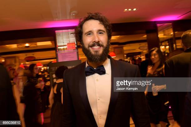 Josh Groban attends the 2017 Tony Awards Gala at The Plaza Hotel on June 11 2017 in New York City