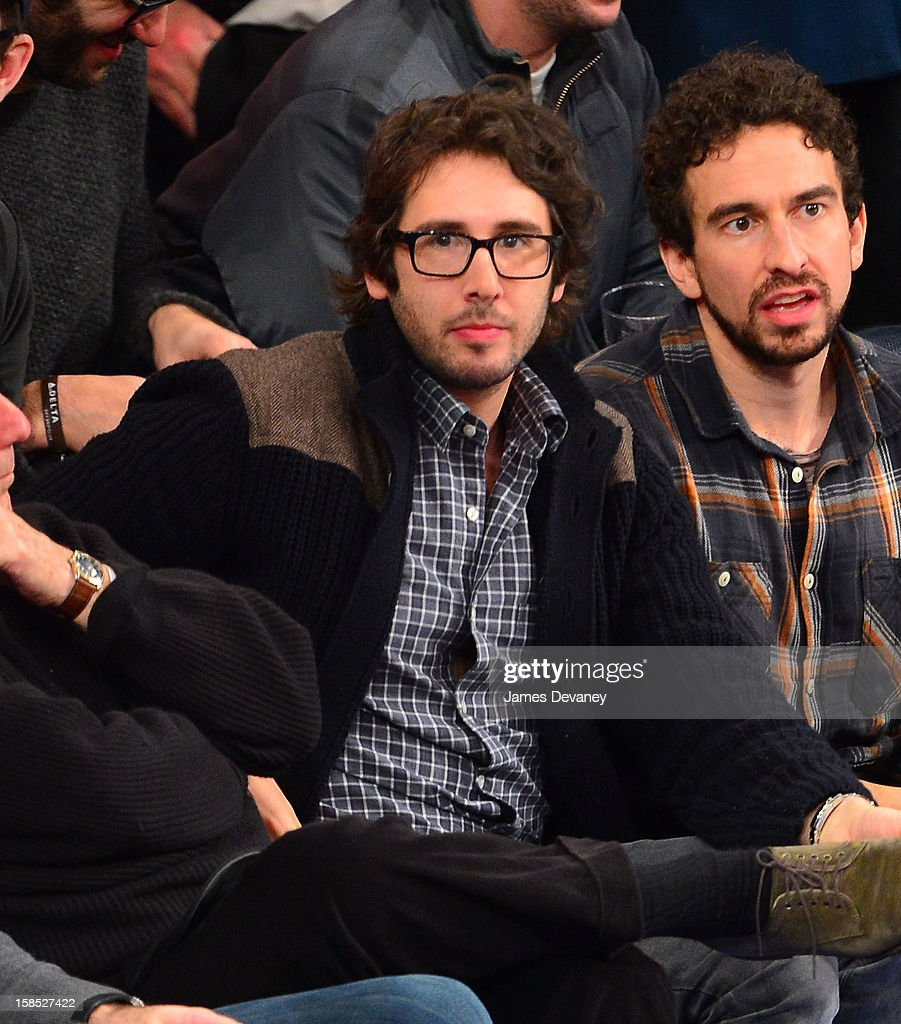 <a gi-track='captionPersonalityLinkClicked' href=/galleries/search?phrase=Josh+Groban&family=editorial&specificpeople=202917 ng-click='$event.stopPropagation()'>Josh Groban</a> attends the Houston Rockets vs New York Knicks game at Madison Square Garden on December 17, 2012 in New York City.
