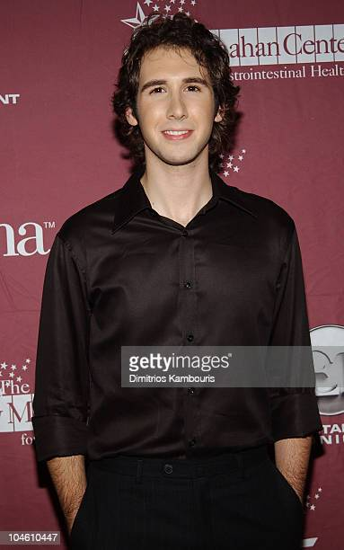 Josh Groban during Katie Couric and the Entertainment Industry Foundation Unite Hollywood Broadway Stars to Launch The Jay Monahan Center for...
